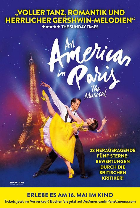 An American in Paris: The Musical OmU: Poster