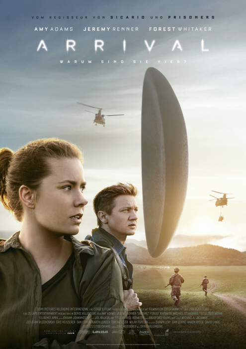 Arrival: Poster