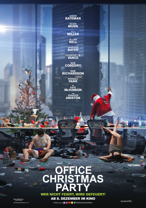 Office Christmas Party: Poster