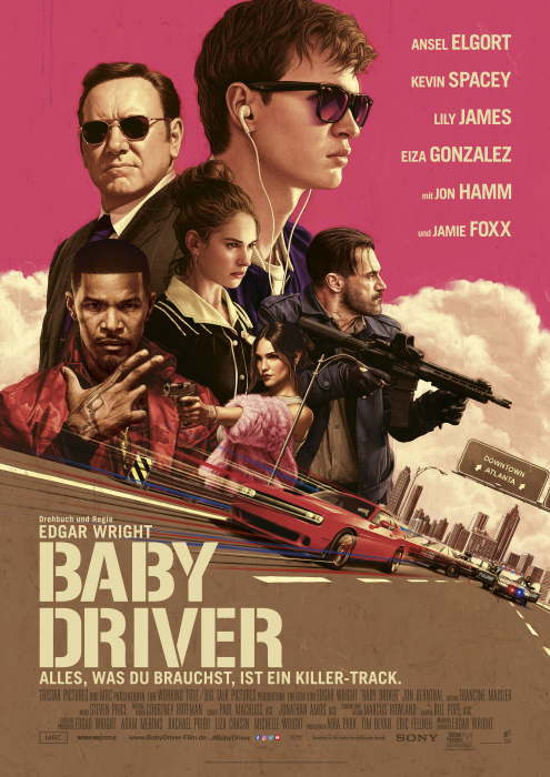 Baby Driver: Poster