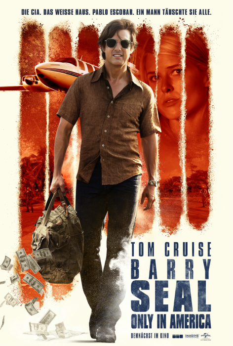 Barry Seal - Only in America: Poster