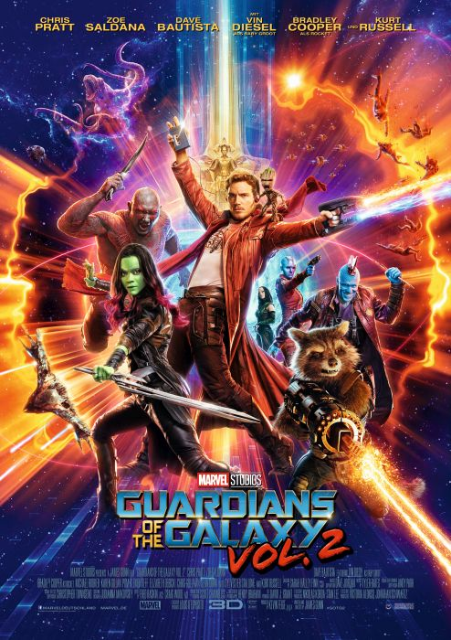 Guardians of the Galaxy Vol. 2: Poster