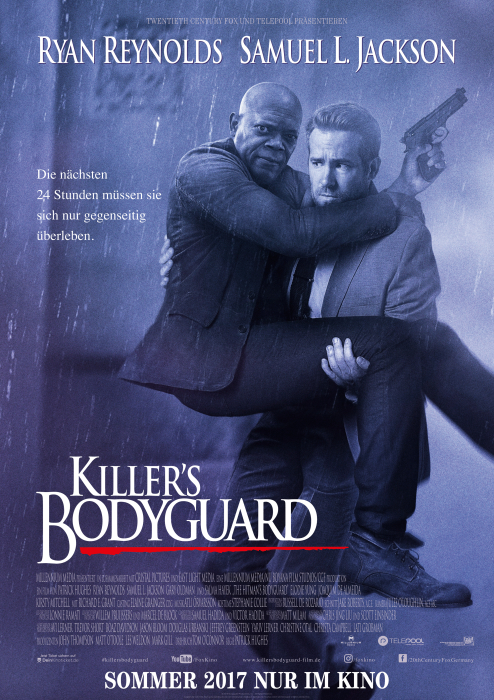 Killer's Bodyguard: Poster