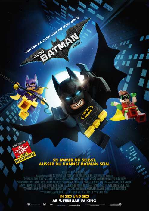 The Lego Batman Movie: Poster