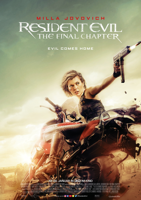 Resident Evil - The Final Chapter: Poster