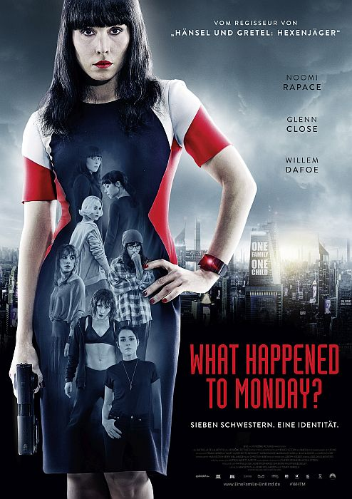 What happened to Monday?: Poster