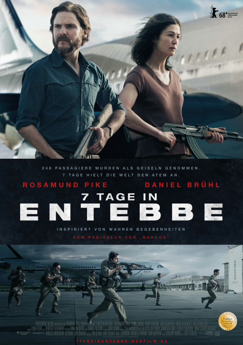 7 Tage in Entebbe: Poster