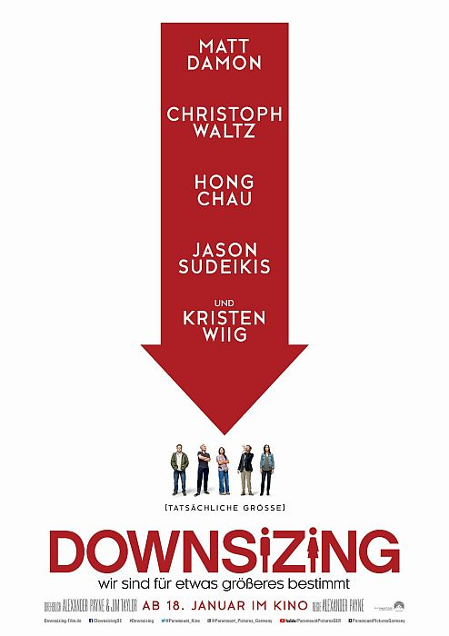 Downsizing: Poster