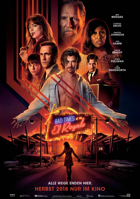 Bad Times at the El Royale: Poster
