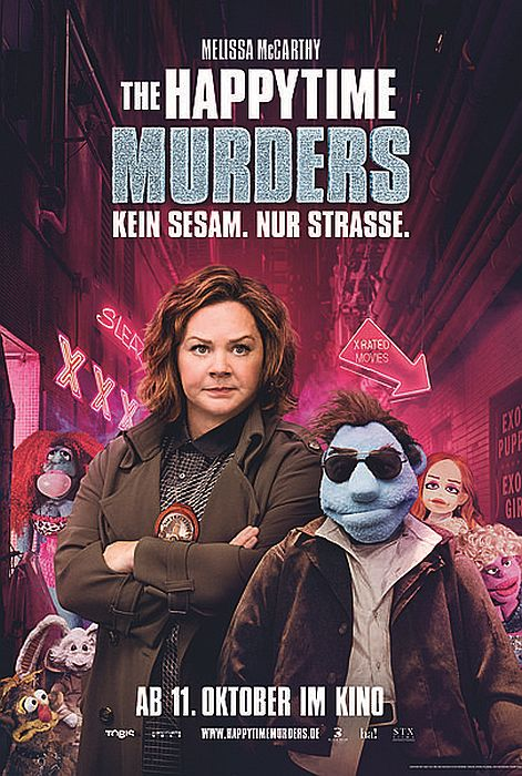 The Happytime Murders: Poster