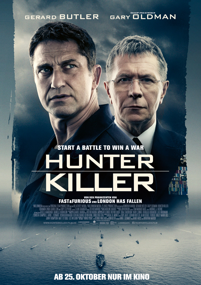 Hunter Killer: Poster