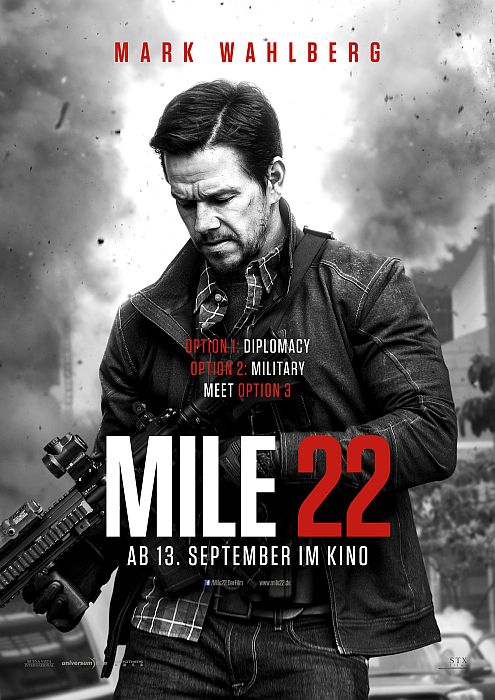 Mile 22: Poster