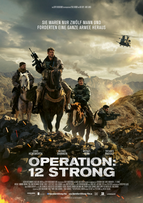 Operation: 12 Strong: Poster