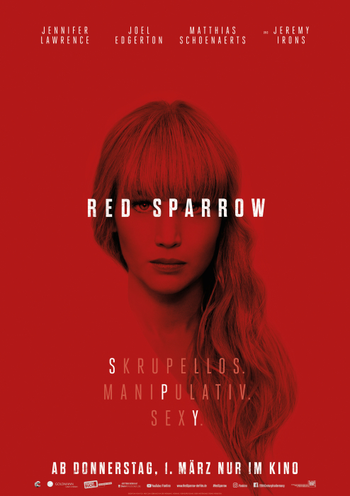Red Sparrow: Poster