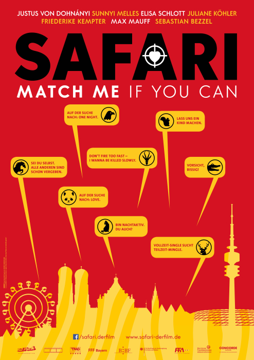 SAFARI – Match me if you can: Poster
