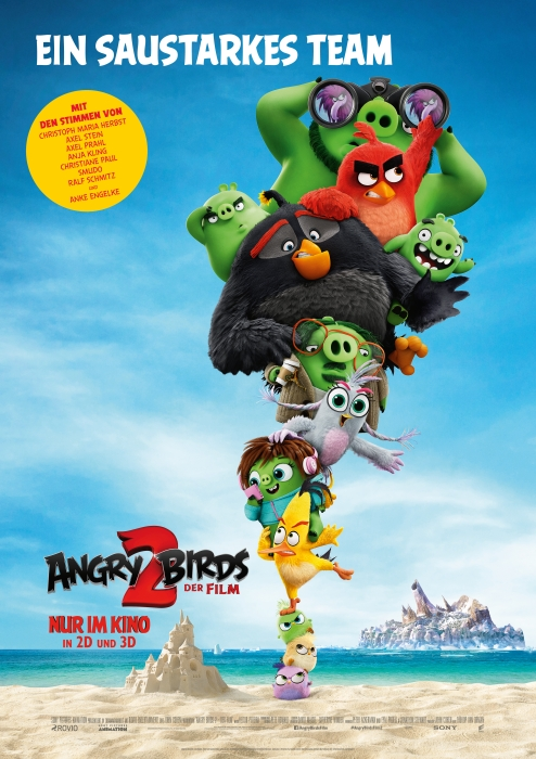 Angry Birds 2 - Der Film: Poster