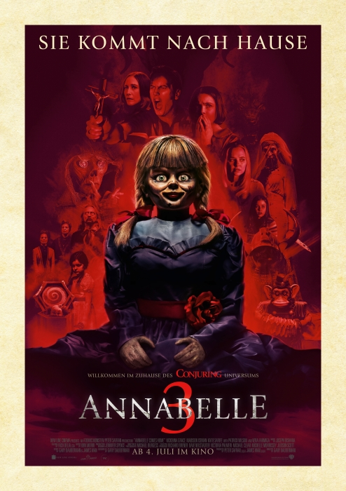 Annabelle 3: Poster