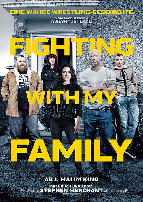 Fighting With My Family: Poster