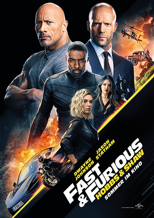 Fast & Furious: Hobbs & Shaw: Poster