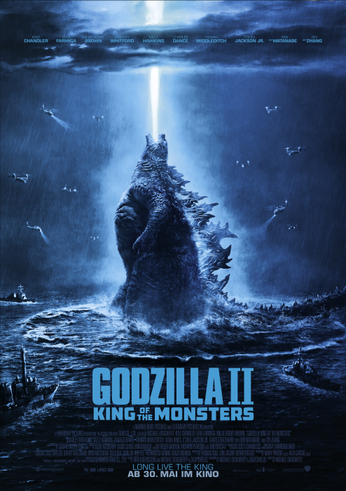 Godzilla 2: King of the Monsters: Poster