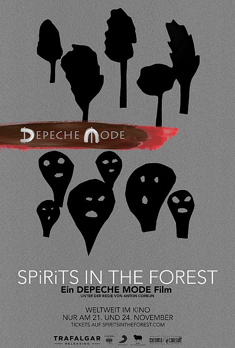 Depeche Mode: SPIRITS in the Forest: Poster