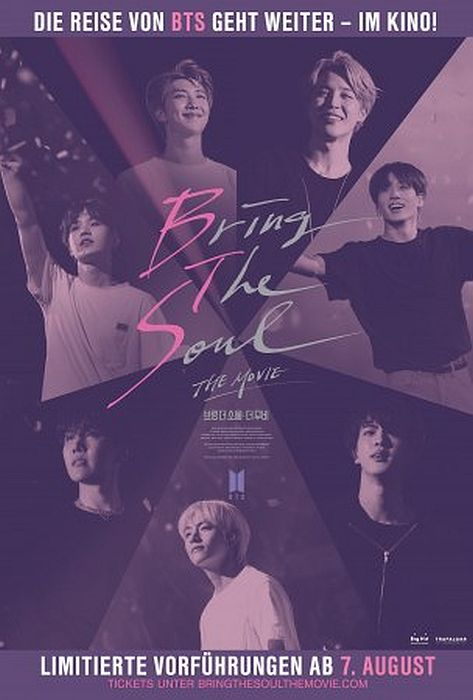 BTS: Bring The Soul – The Movie OmU: Poster