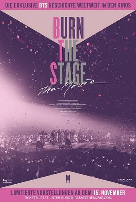 BTS: Burn The Stage: The Movie OmU: Poster
