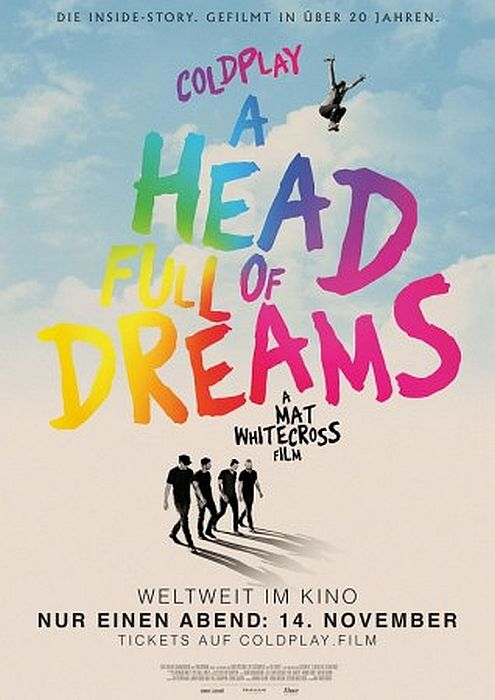 Coldplay: A Head Full Of Dreams OmU: Poster