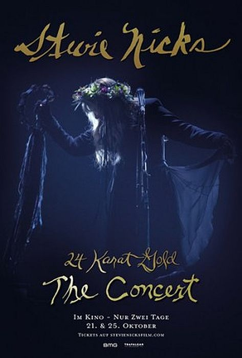 Stevie Nicks 24 Karat Gold The Concert: Poster